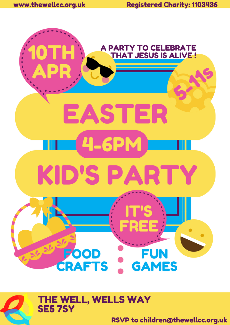 Easter Kid's Party 2018 @ The Well Community Church | England | United Kingdom