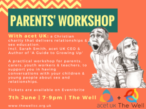 Parents' Workshop @ The Well Community Church | England | United Kingdom