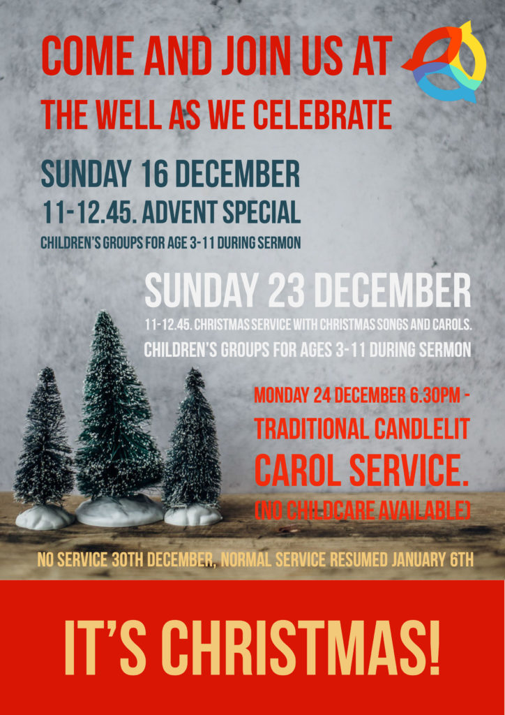 Christmas Advent Special @ The Well Community Church | England | United Kingdom
